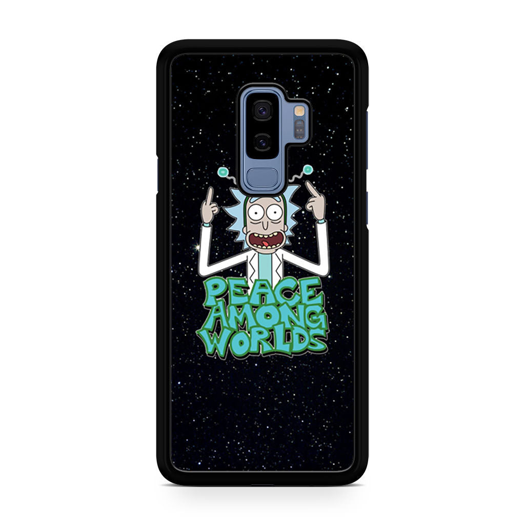Rick Sanchez Morty Peace Among Worlds Samsung Galaxy S9/S9+ case