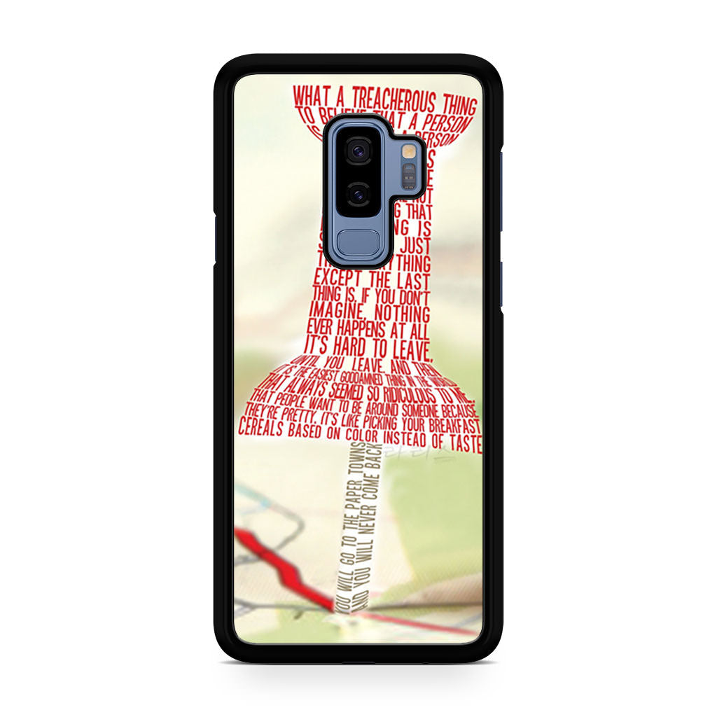 Paper Towns Collage Samsung Galaxy S9/S9+ case