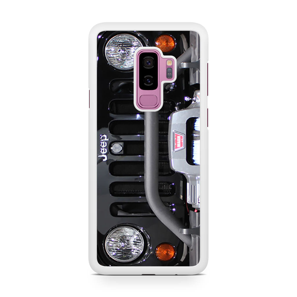 Jeep Black Samsung Galaxy S9/S9+ case
