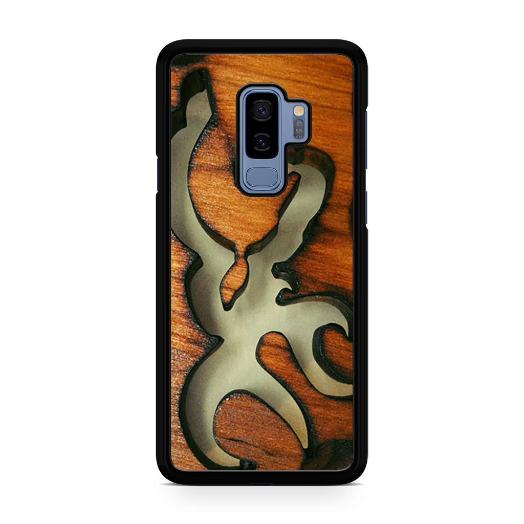 Browning Deer on Wide Samsung Galaxy S9/S9+ case