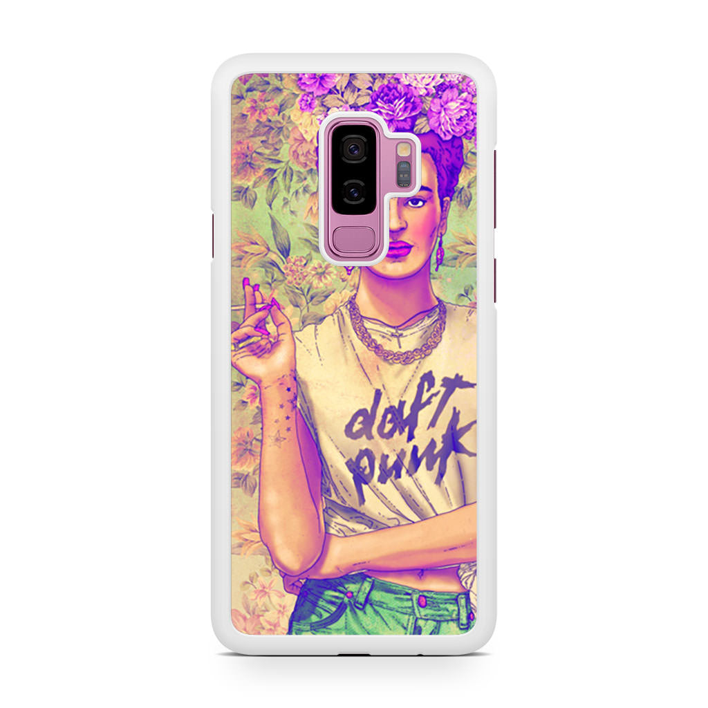 Frida Kahlo Punk Smoking Samsung Galaxy S9/S9+ case