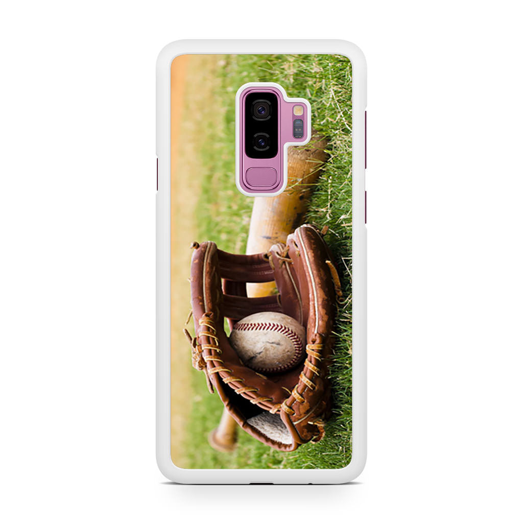 Baseball Glove Bat Samsung Galaxy S9/S9+ case