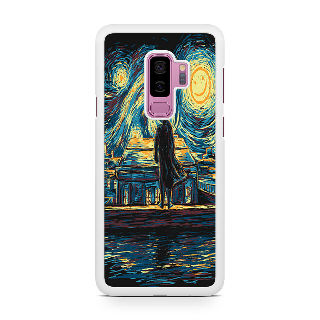 Starry Night Fall Sherlock Samsung Galaxy S9/S9+ case