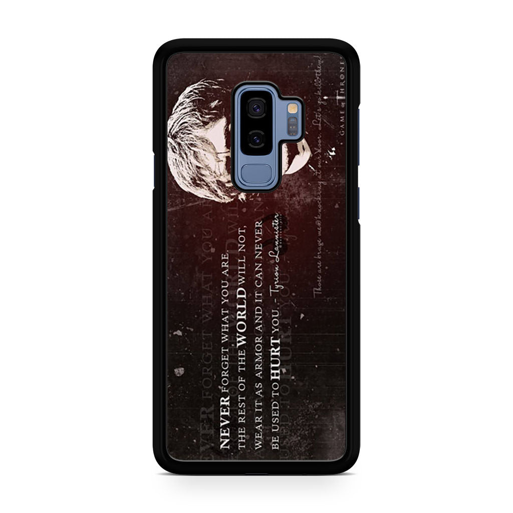 Tyrion Lannister Quote Samsung Galaxy S9/S9+ case