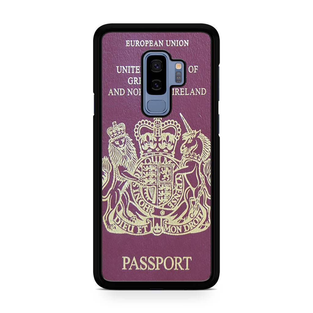 European Passport Samsung Galaxy S9/S9+ case