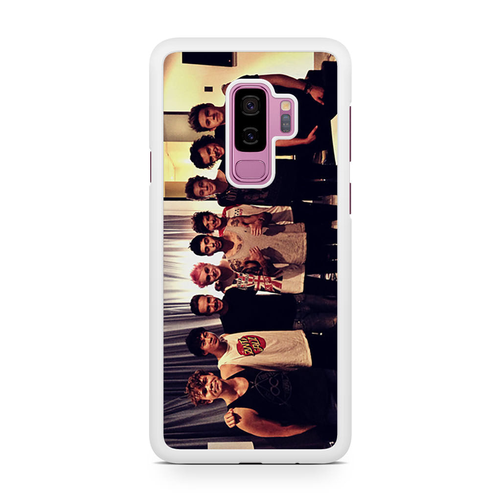 One Direction and 5SOS Samsung Galaxy S9/S9+ case