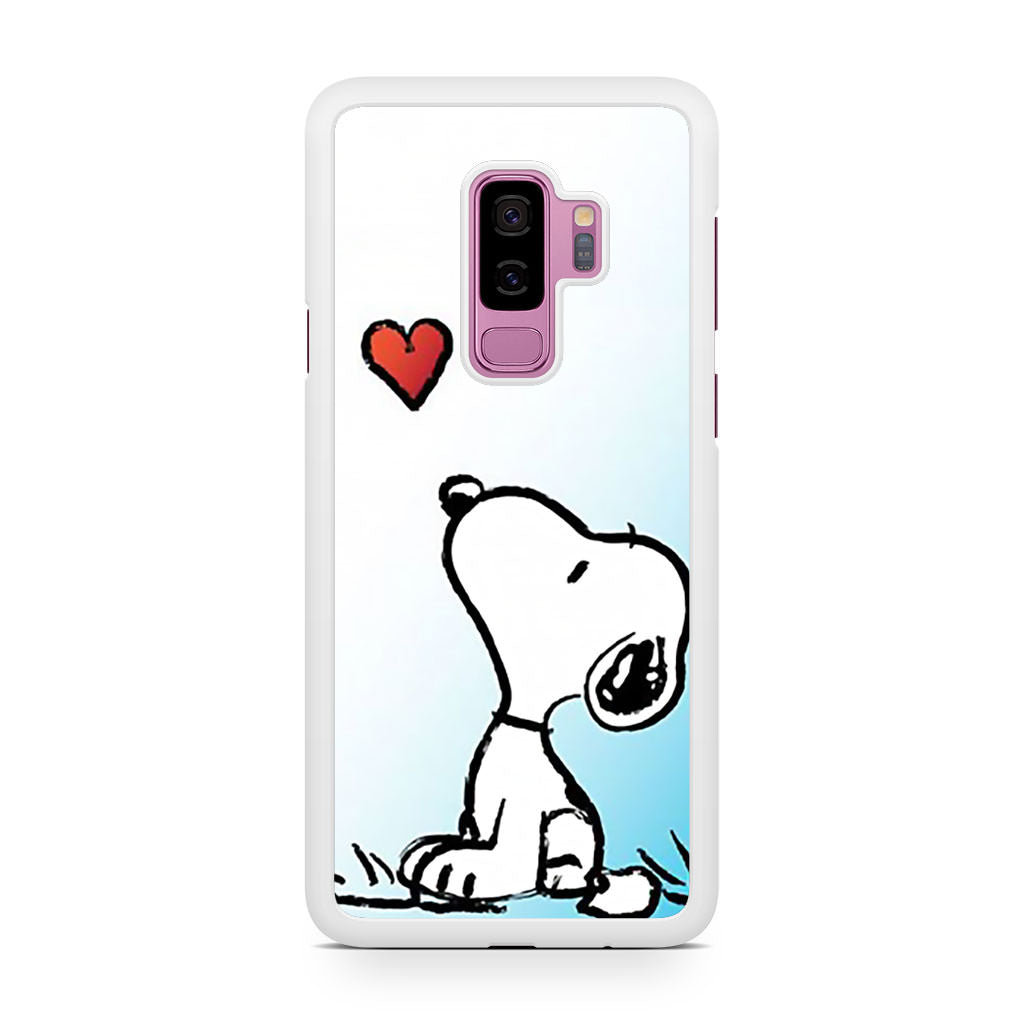 Snoopy Love Samsung Galaxy S9/S9+ case