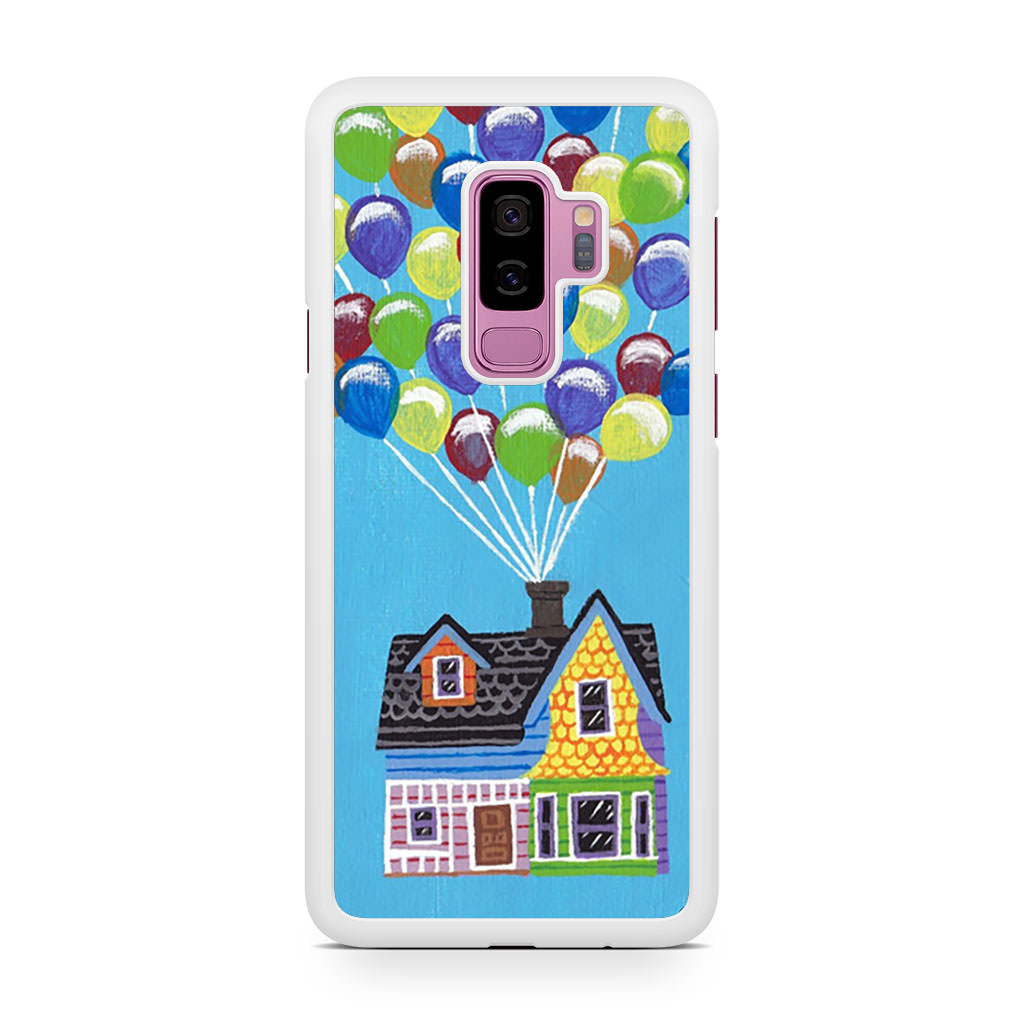 Up Balloon Flying House Samsung Galaxy S9/S9+ case