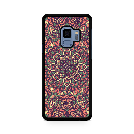 Seamless Mandala Flower Indian Bali Tribal Samsung Galaxy S9/S9+ case