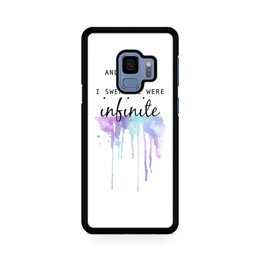 The Perks of Being a Wallflower Quote Samsung Galaxy S9/S9+ case