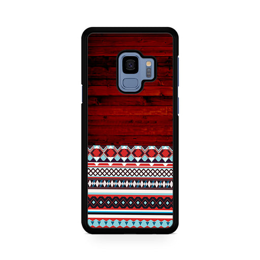 Wooden Aztec Pattern Samsung Galaxy S9/S9+ case