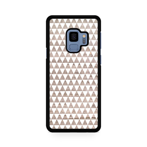 Wooden Triangle Geometric Pattern Samsung Galaxy S9/S9+ case