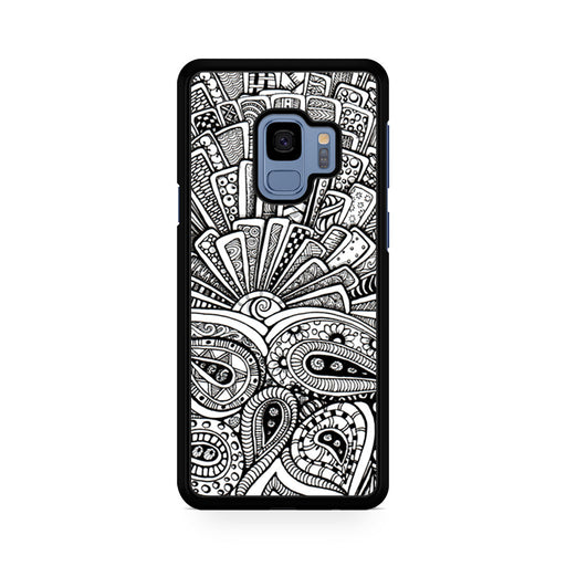 Zentangle Monogram Samsung Galaxy S9/S9+ case