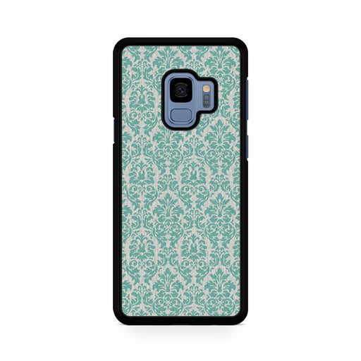 Teal Damask Samsung Galaxy S9/S9+ case