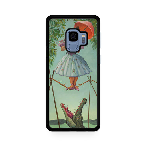 disney haunted mansion paintings Samsung Galaxy S9/S9+ case