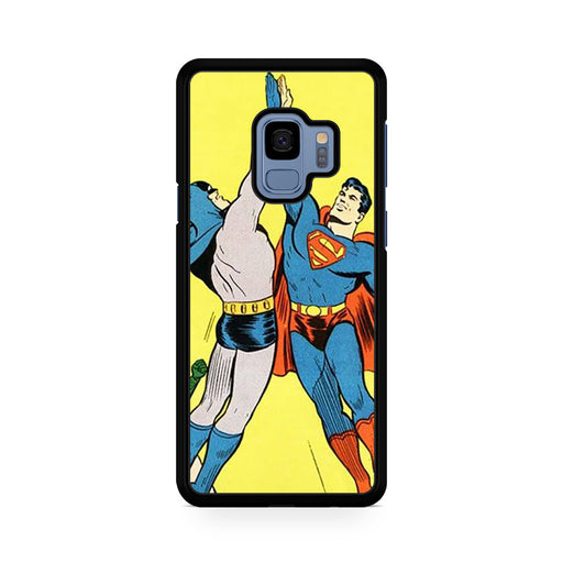 World's Finest Superman Batman Super High Five Samsung Galaxy S9/S9+ case
