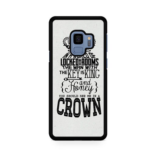 You Should See Me In A Crown Moriarty Quote Samsung Galaxy S9/S9+ case