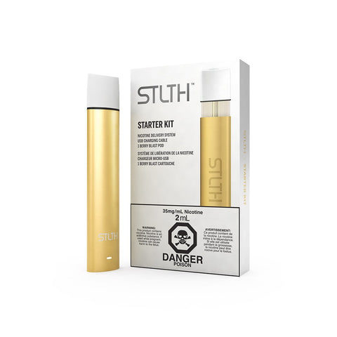STLTH Starter Kit - Gold (Berry Blast 3.5% Pod) (Limited Edition)