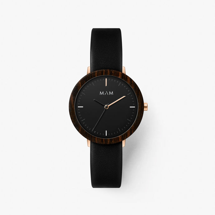 Minimalist watch wood Mam Originals | FERRA  634