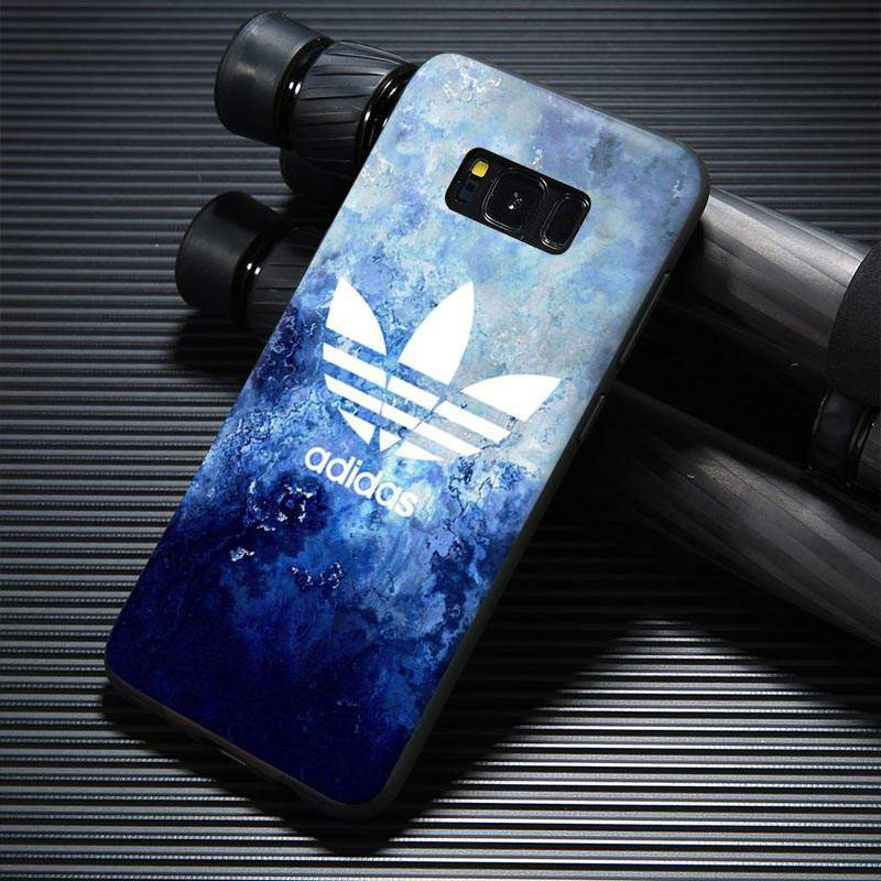 detailed look 9eba6 b2a54 blue marble adidas samsung galaxy s8 case