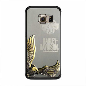 more photos 0dee3 4c874 harley davidson eagle metal samsung galaxy s7 s7 edge s4 s5 s6 cases