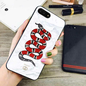 separation shoes b6d10 1aa0a gucci marble iphone iphone 8 plus cases – caselaza