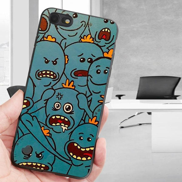 size 40 f019a a6195 painting mr meeseeks iphone 6 case