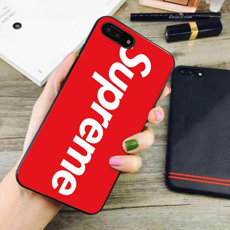Red Supreme Iphone 8 Plus Case
