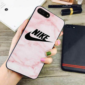 rose marble nike iphone 7 plus case