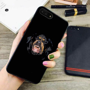 competitive price c4641 c8453 rottweiler givenchy dogs iphone 7 plus case