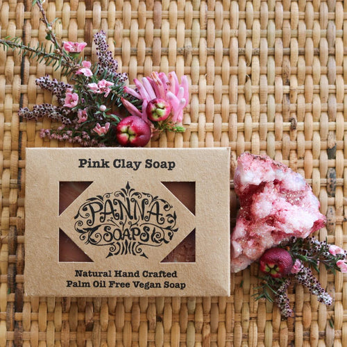 Panna Soaps Pink Clay Soap