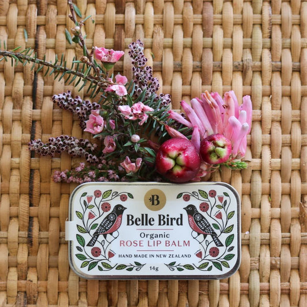 Belle Bird Botanica Organic Rose Lip Balm
