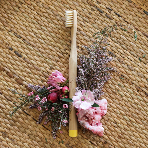 Mama Bear Bamboo Toothbrush