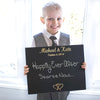 Custom Wedding Chalkboard Sign