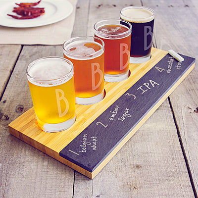 Bamboo & Slate Craft Beer Tasting Flight