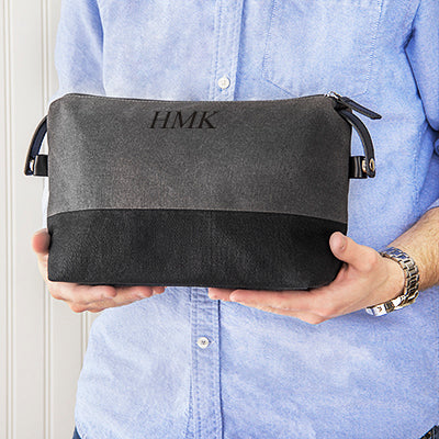 Two Tone Dopp Kit