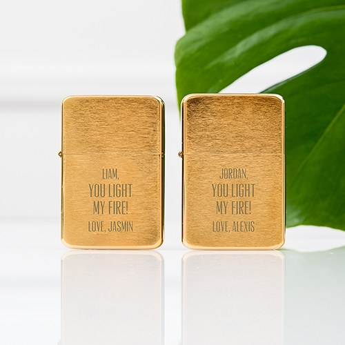 You Light My Fire Custom Lighter