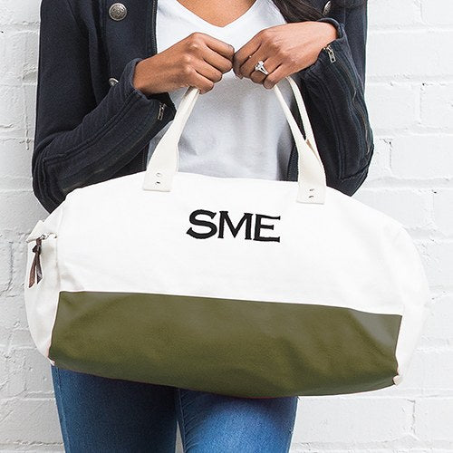 Personalized Weekend Bag