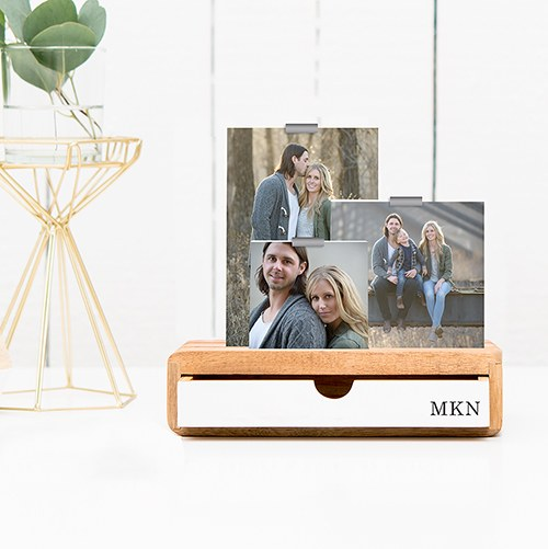 Photo Frame Desk Organizer
