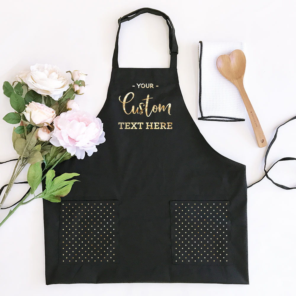 Personalized Women's Apron (in 2 colors)