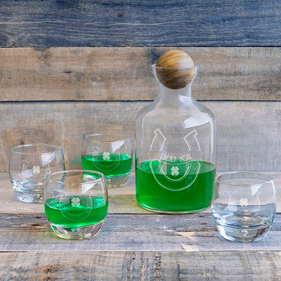 St. Patrick's Day Decanter Set