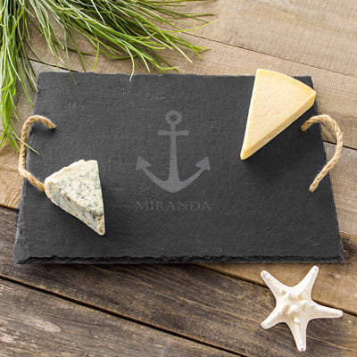 Anchor Slate Serving Board