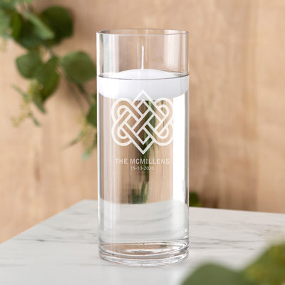 Celtic Knot Floating Unity Candle