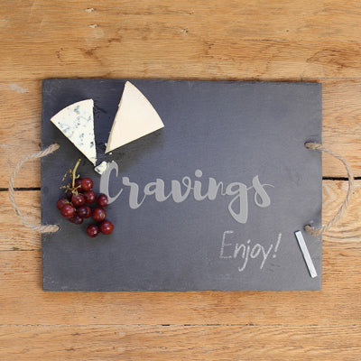 Cravings Slate Serving Board