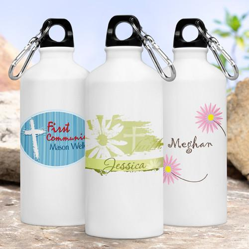 Personalized Kids Inspirational Water Bottles