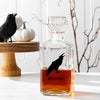 Halloween Raven 34 oz. Glass Decanter