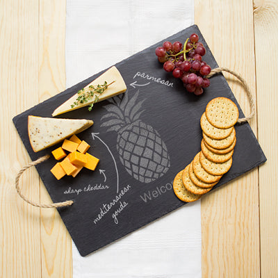 Pineapple Slate Serving Board