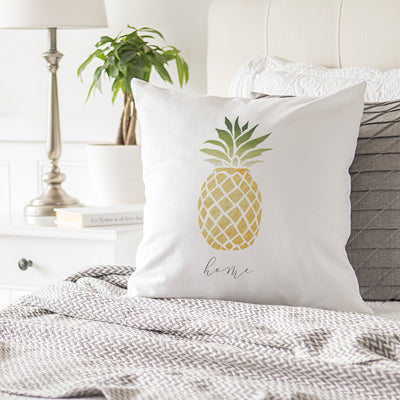 "Pineapple 16"" Throw Pillow"