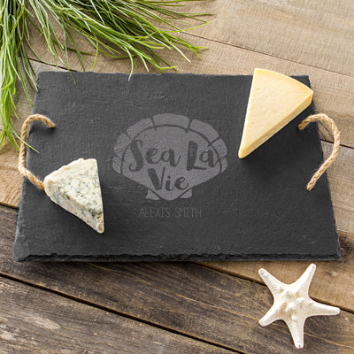 Sea La Vie Slate Serving Board