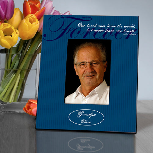 Personalized Nevergone Memorial Picture Frame